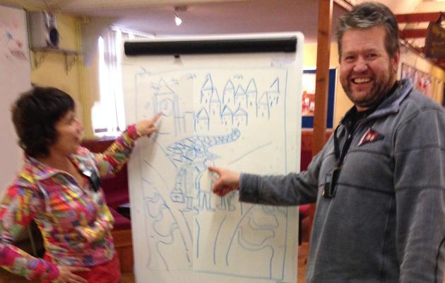Viv and Richard share Mosaic ideas!