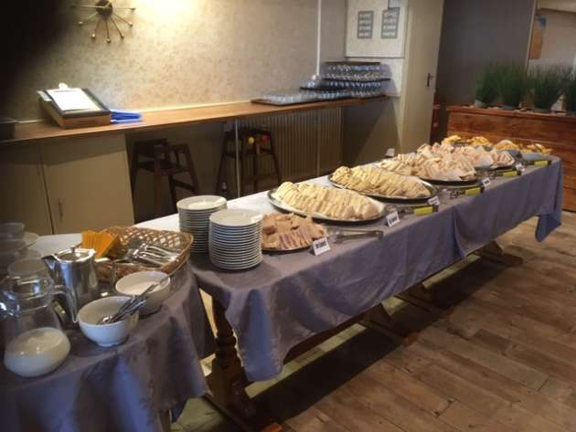 The amazing buffet table